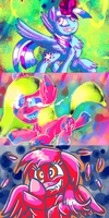 Experimental Artstyles by Kana-The-Drifter