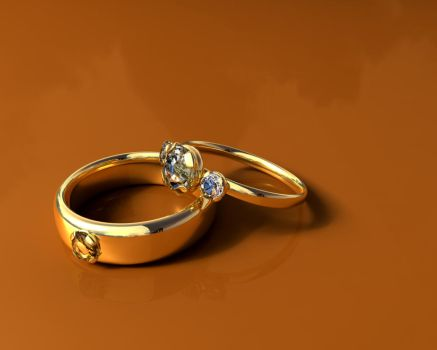 Wedding Rings by vinchess