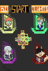 Select your character! by Elise-Blight