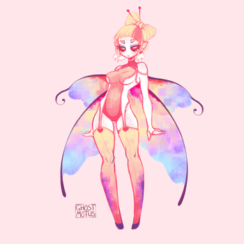 Stings like a butterfly Auction Adopt by GhostMotus