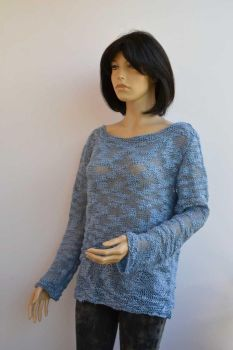 Blue sweater by dosiak