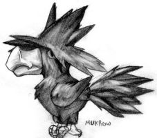 Pokemon Sketches - Murkrow