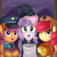 Trick or Treat by VanillaGhosties