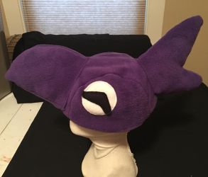 Final Fantasy V Black Chocobo Hat by tacksidermia