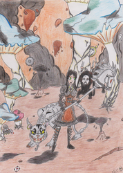 Alice Madness Returns - Valley of Doom by Dr-Spoil
