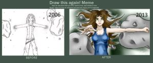 Before and After drawings. by bookxworm89