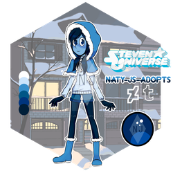 [OPEN] Gemsona Adoptable - Winter Collection #1 ~ by naty-js-adopts