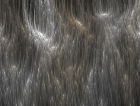 Silvery Gold Curtain by PaulineMoss