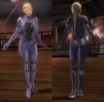 DoA5 Mod - Helena: Infiltration Suit by Segadordelinks