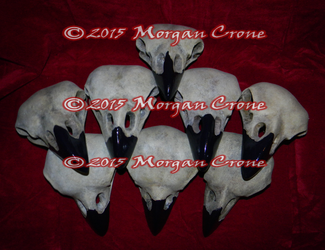 Pile of Birdy Skulls by MorganCrone