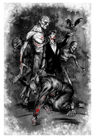 Creatures of the Night - Famous Monsters by gregbo