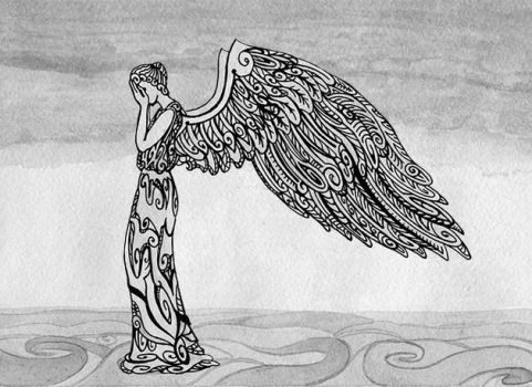 my weeping angel by ADAtheQueenOfHEARTS