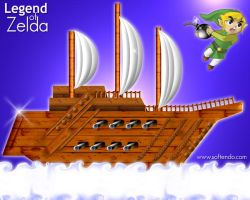 Legend of Zelda - Warp Ship by softendo