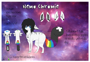 Nemo Chromie's Reference. :3 by batskies
