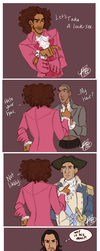 Jefferson's New Groove by naomimakesart