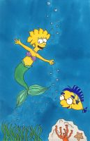 Lisa Simpson: Under the Sea... by TheDramaticMonarch