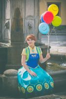 Princess Anna - Frozen Fever by Shappi