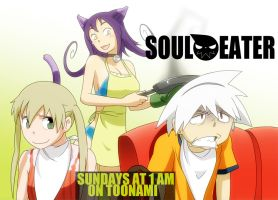 Soul Eater Banner- Cat Food by Gairon