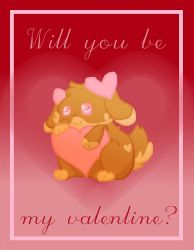 Valentine Anyone? by cutecatandrabbit