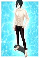 His butler, Free! by PunksGoneDaft