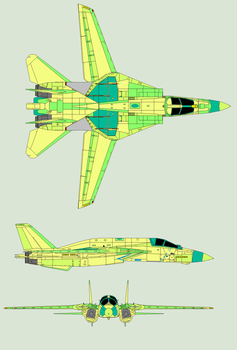 FA-14G Super Bombcat by Zhanrae30