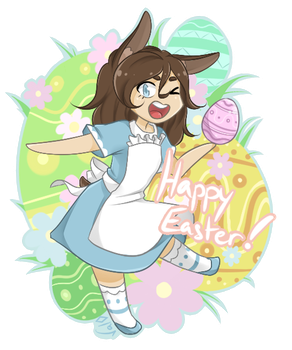 Happy easter ! by Val-07
