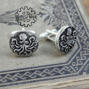 Octopus Cufflinks by Doctor-Gus