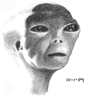 Alien From Close Encounters by erwebb