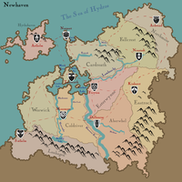 Newhaven Map by Nanotide