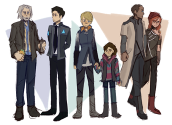 become human by Pasmix