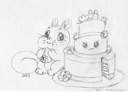 Wedding Cakies by MeMiMouse