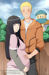 Naruhina Pregnancy by shock777