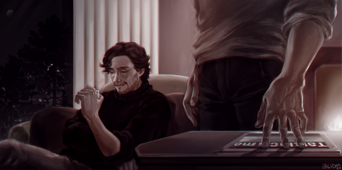 Hannibal and Will 3 by Ubludok24