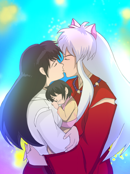 Inuyasha: Happy Ending by Adohira