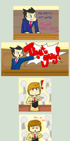 Phoenix Wright: + Death Note by Epileptic-Trees