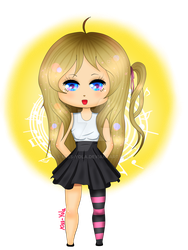 Toy Chica - FNAFHS by Miss-Yola