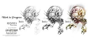 Risen3 Titan Lords Spiderqueen Workflow by ArthusokD