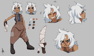 Reference's of a nine years old Pirate ! by KataraDSilver