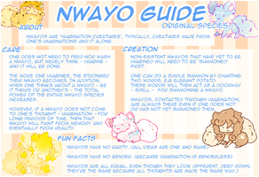 Nwayo Species Guide by DeToast