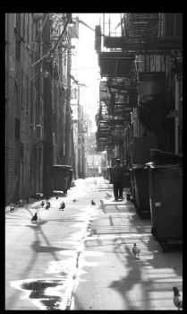 Chinatown Desaturated. by jennprower