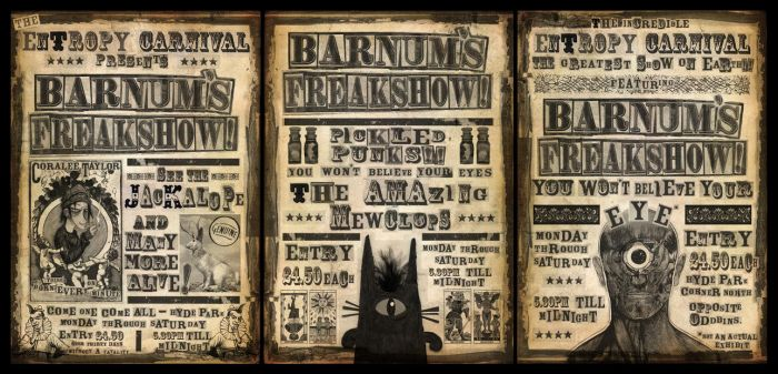 Barnums Freakshow - Completed by halley42