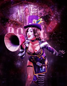 Mad Moxxi  - Welcome to the Underdome!! by Enasni-V
