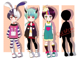 Adoptable Batch 3 [AUCTION][CLOSED] by shoku-pan