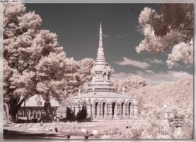 Sunnataram Forest Monastery - IR by JohnK222