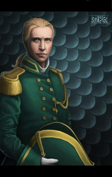 William Laurence of Temeraire by Syngrec