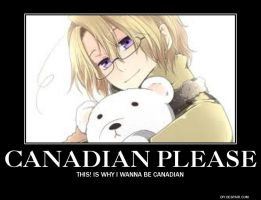 Canadian Please by youmayonlywish