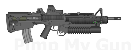 Bullpup M4 by DaVinciAirsoft