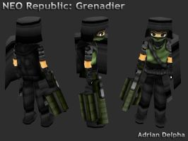NEO Republic Grenadier by DelphaDesign
