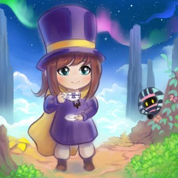 A Hat in Time - Teatime in the Sky by cubehero