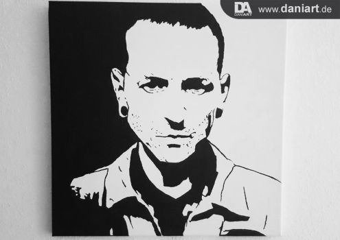 Chester Bennington from Linkin Park by daniart-de
